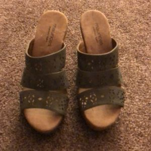 Women's Maurices wedge shoes